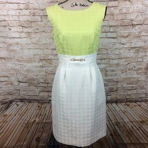 New TAHARI ASL Juliane Patterned Sleeveless Dress